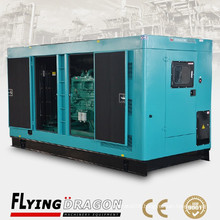 200kw Weichai silent diesel power plant generator for sale 250kva soundproof electric plant
