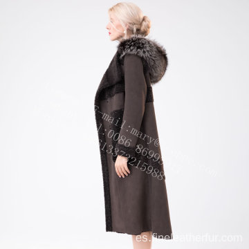 Hooded Women Australia Merino Shearling Piel
