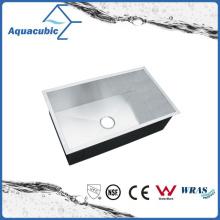 Lavatório de cozinha de ferro fundido artificial de luxo (ACS3218A1)