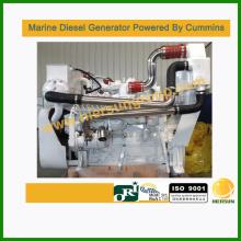 Alimentado pelo gerador diesel marinho Cummins 40kw / 50kva