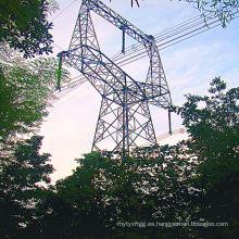 220 Kv Tipo de búho Ángulo de acero Torre de transmisión de energía