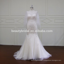 XF803 plus size fish cut and cheap gown images wedding dresses