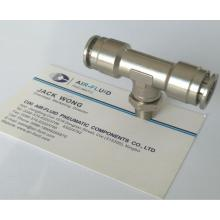 Air-Fluid Branch Swivel Tee Push in Fitting
