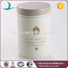 Moderna jarra cerámica botella de cerámica para el gato