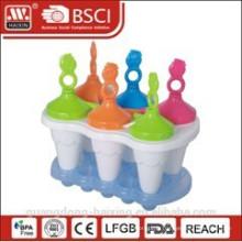 Hot vente & bonne qualité Plastic Ice-Lolly Maker Set