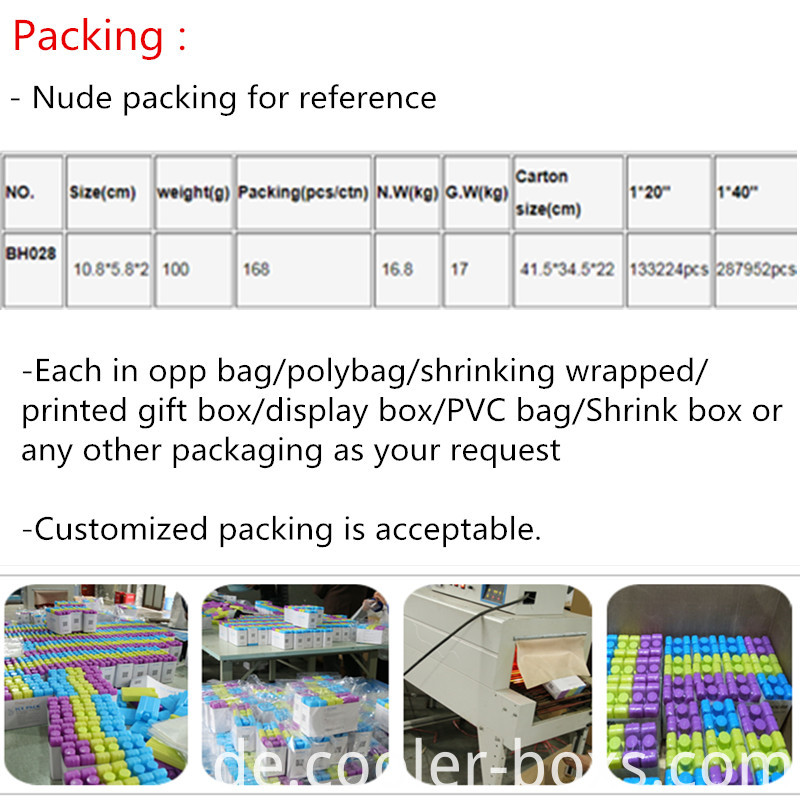 100ml small ice brick packing