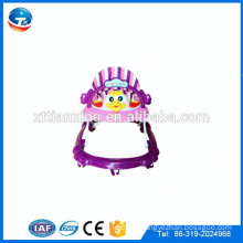 2015 Hot sale cheap 8 wheels rotating baby walker with music and toys for sale