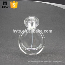 Beste Service 50 ml Runde Luxus-Parfüm-Glasflasche