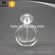 El mejor servicio 50ml botella de cristal redonda del perfume del lujo