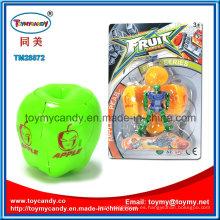Juguete caliente del robot de la transformación de la manzana de la fruta de la historieta de la venta