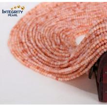 Естественный свободный нефрит размер Strand 2mm 3mm Оптовый розовый Aventurine первоначально камень нефрита