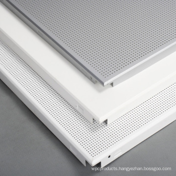 600x600 perforated aluminum false ceiling tiles from china factory