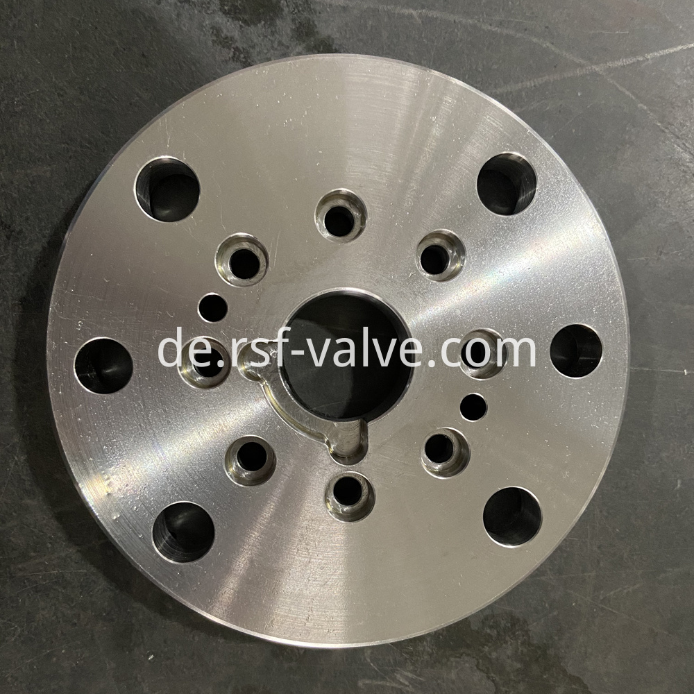 Ball Valve Part Adapter Plate 2