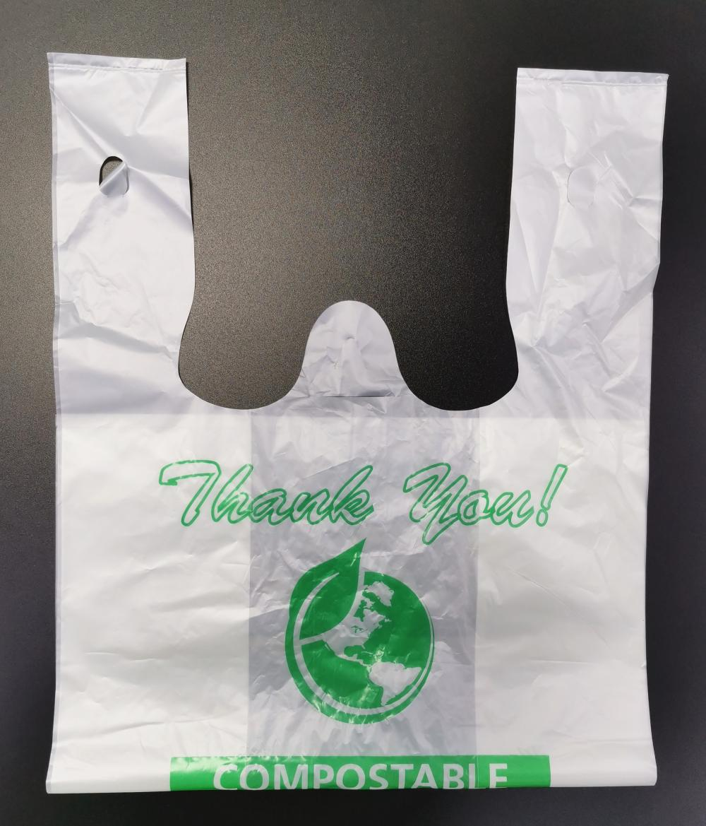 EN13432 certified Environmentally Friendly Bags