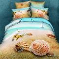 Hot Home Textile Bettwäsche Blatt gedruckt 3D-Bettwäsche-Set