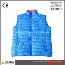 100% Nylon Casual Body Warmer Light Weight Down Vest