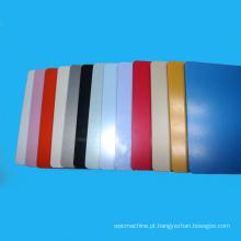 Linha de produção colorida da folha do ABS do material de alojamento