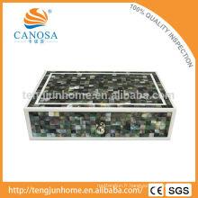 Boîte Organiseur de stockage de noix de perle noire