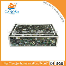 Luxury mother of pearl inlay boxes for hotel amenity