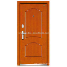 Finished steel wood armored door