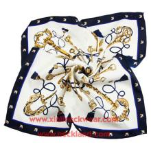 Neue Produkt Damen große gedruckte natürliche Schals Seide