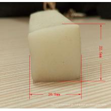 Tiras de borda de silicone claro de extrusão de silicone
