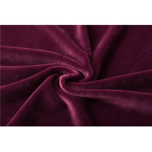 100% Polyester Knitted Super Soft Fabric For Bedding