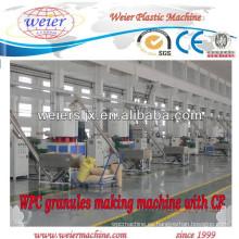 Cadena de producción del estirador de tornillo gemelo cónico 156,65/80/132