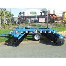 150HP tractor trailed hydraulic 24 disc harrow
