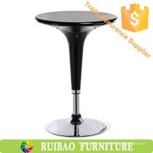 Cheap Modern Bar Table Bar Furniture Plastic ABS Adjustable High