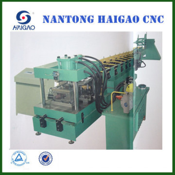 Cortar el CNC Punch C Purlin rodillo formando la máquina