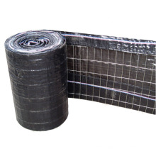 Black PP wire backed silt fence customized