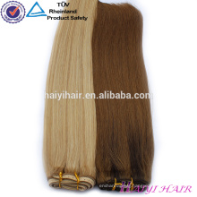 Wholesale Hot Selling Full Cuticle Double Drawn Remy Human Clip In Hair Extensions
