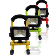 10W 4400mAh LED Protable Rechargeable Floodlight