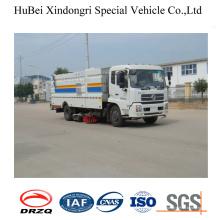 4cbm Dongfeng compacto recogida de basura Carretera camión barredora