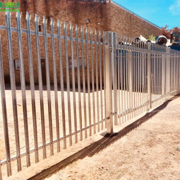 W type Euro Garden security Palisade Fencing