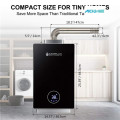 6kw Electric Tankless Hot Point Penggunaan WaterHeater