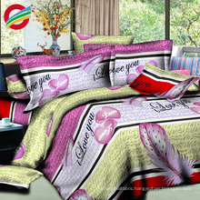 100% new modern poly cotton fabric bed sheet sets