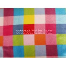 Colorful Plaid Fleece Fabric