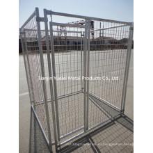Клетка для кормления собак / металлическая клетка для собак с ящиком для собак / сварная клетка для собак / птица для кормления для курятины