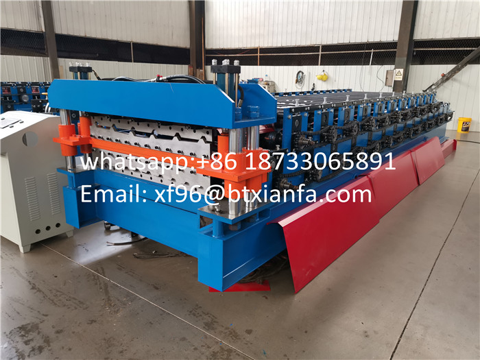 metal roofing sheet machine