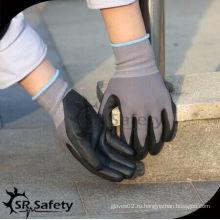 SRSAFETY дешевые перчатки / спандекс микропены нитриловые перчатки / перчатки для рук