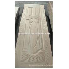 Piel decorativa de la puerta del diseño de la puerta de la melamina del lowes del proveedor de China