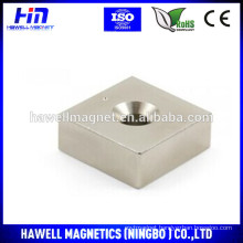 High performance permanent neodymium magnet block shape(RoHS)