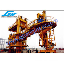 2000bags/Hour Screw Bagged Cement Barge Loader System