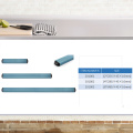 Colorful Plastic Wall Double Kitchen Magnetic Knife Rack