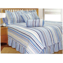 Stripe Simple Design Modern Style Patchwork Printed Quilts (WSPQ-2016009)