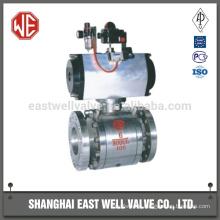 Gas station ball valve