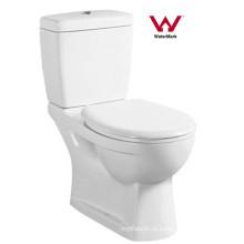 Australiano fornecedor padrão Watermark Bathroom Washdown Two Piece Toilet (6003)