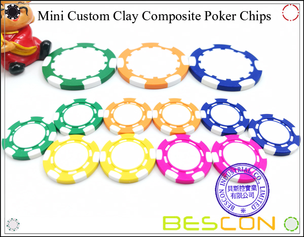 Bescon New Style Clay Chip with Custom Sticker-13